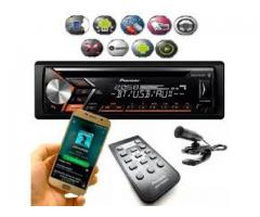 "CD player Pioneer ""top"" com Bluetooth(Lacrado)"